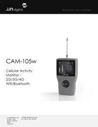 Technical Specifications for CAM-105w