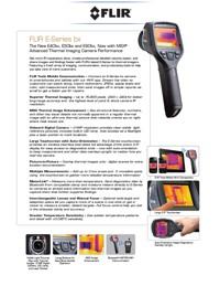 Technical Specifications for FLIR