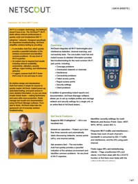 Technical Specifications for FLUKE AirCheck