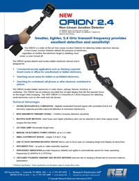 Technical Specifications for Orion24 NLJD